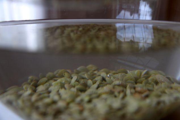 lentils up close