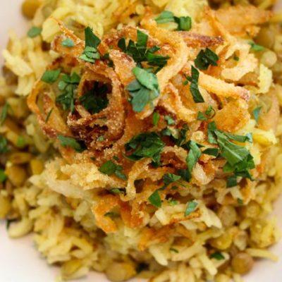 Mejadra – a Taste of Home