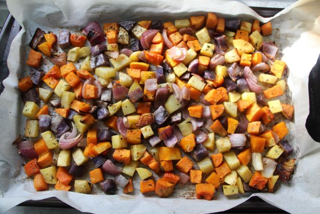 Oven Roasted Vegetables – Move Aside Main Dish