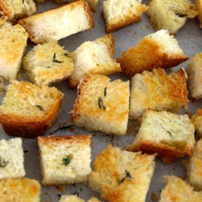 Homemade Challah Croutons