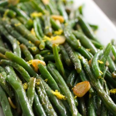 S'lata Lubia – Simple Green Beans