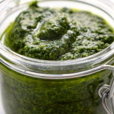 """Pesto – The Green """"Go"""" for Flavor Balance"""