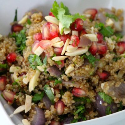 For the Love of Pomegranates – Quinoa Fresh Salad