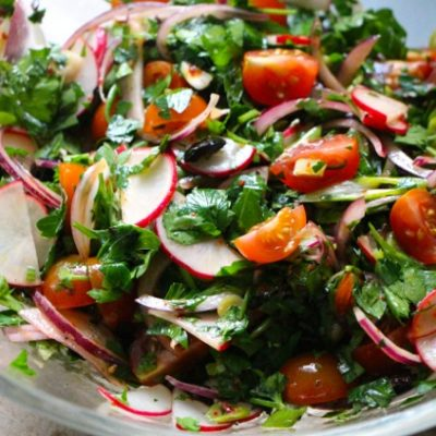 B'sal U'Maa'dnus – Super Fresh Tunisian Purim Salad