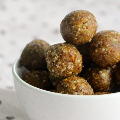 Great Balls of Tunisian Charoset! :)