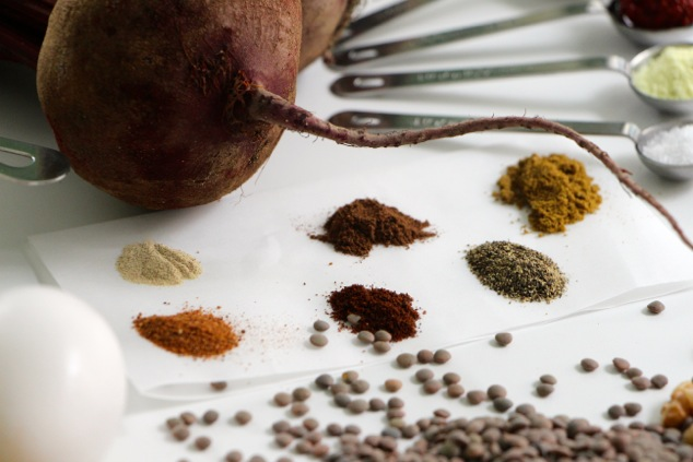 Kubbeh Selek spices up close