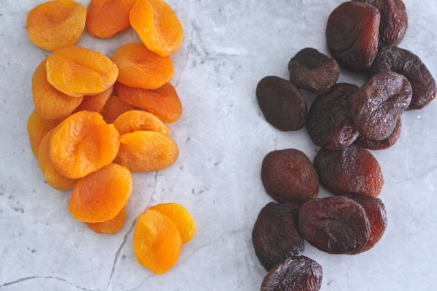 dried appricots regular vs organic