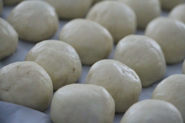 formed Kubbeh up close