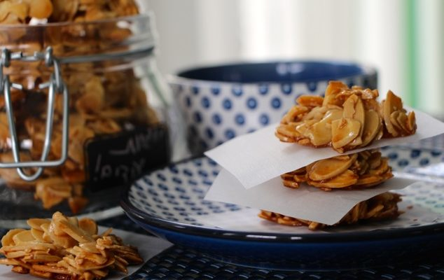 Sliced Almonds Cookies – A Cookie Trending Up