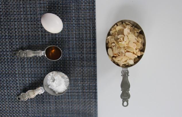 sliced almond cookies ingredients
