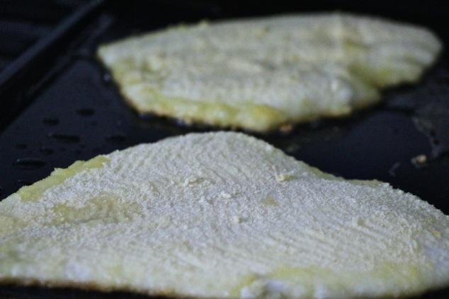 frying fish filets